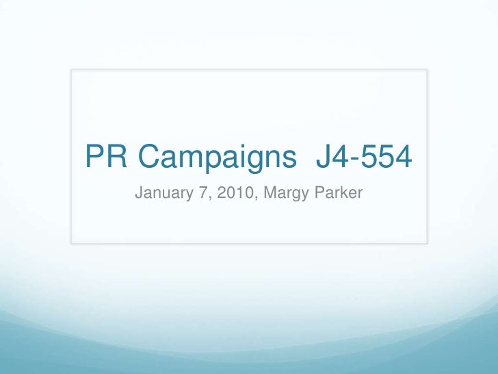 Types & Uses of PR Research