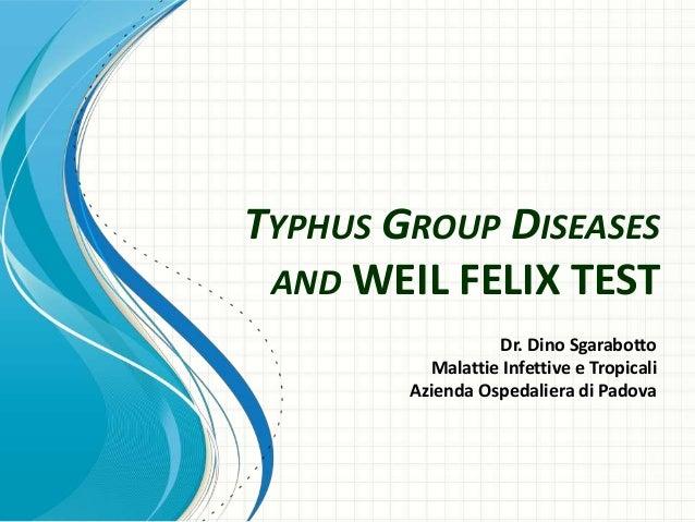 Typhus group diseases