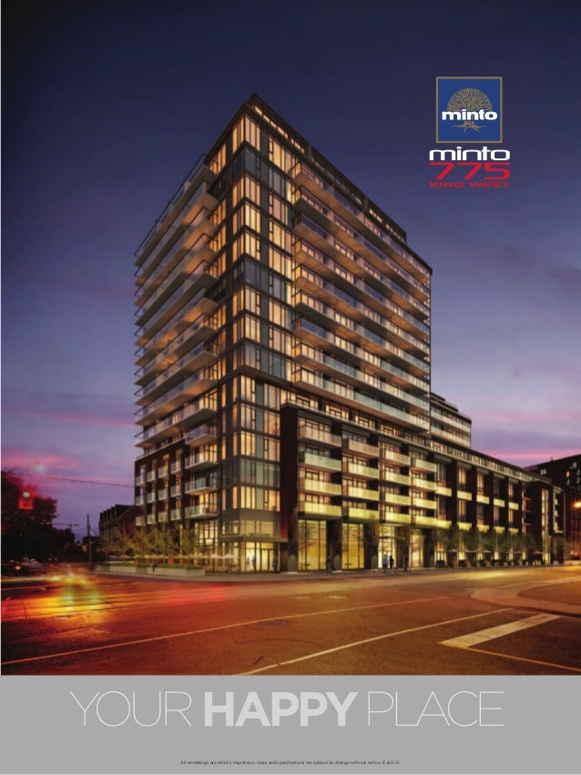MINTO CONDOS AT KING WEST , 775 KING WEST CONDOS TORONTO , MINTO KING WEST