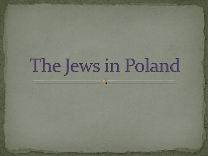 Typical Clothes Of The Jews