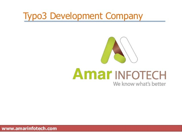 Typo3 Development Companywww.amarinfotech.com