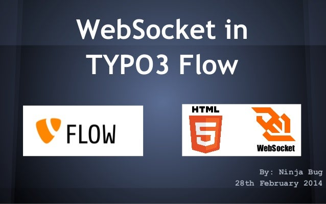 WebSocket in TYPO3 Flow WebSocket By: Ninja Bug 28th February 2014
