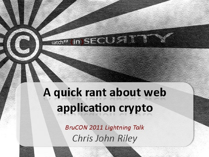 A quick rant about Web App crypto