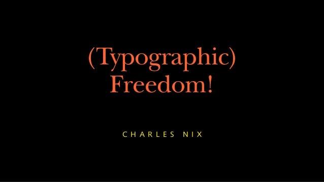 Typographic choice