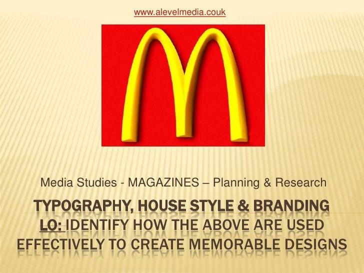 Typography house style_branding