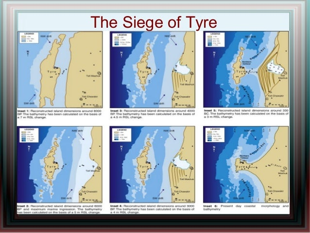 The Siege of Tyre - Alexander the Great