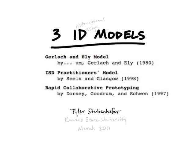 3 Instructional Design Models