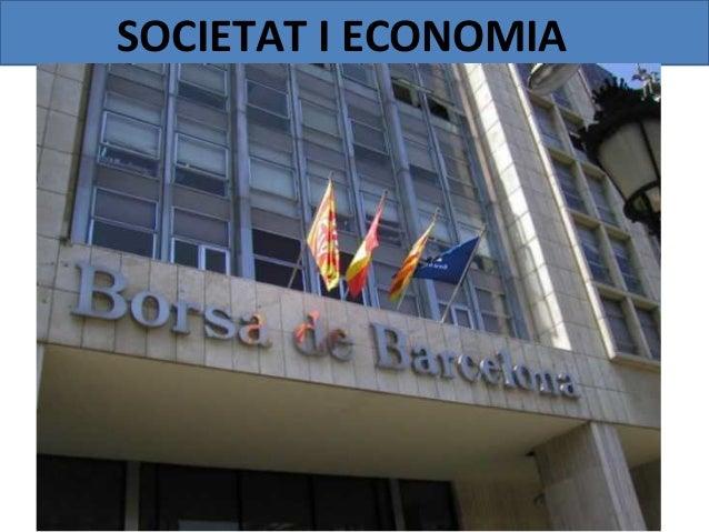 SOCIETAT I ECONOMIA