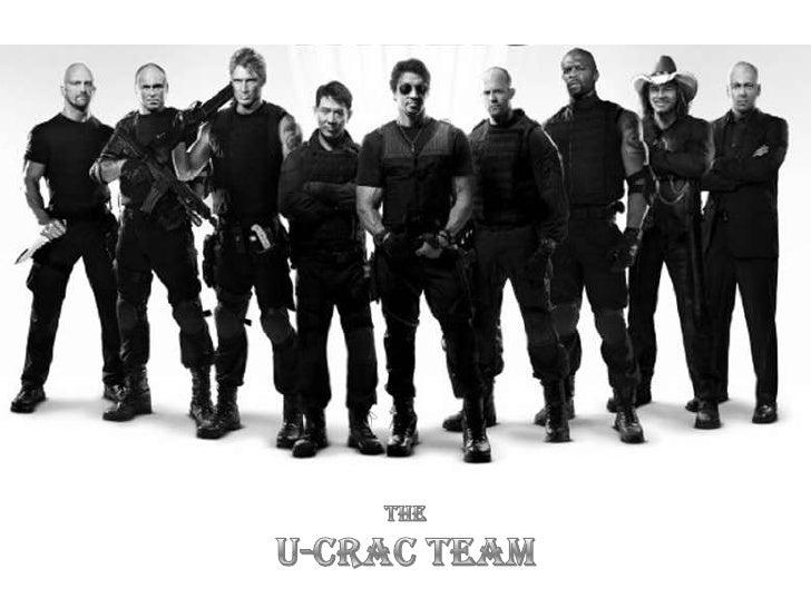 THE<br />U-CRAC TEAM<br />