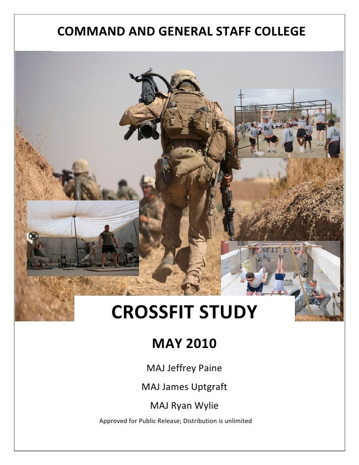 U.S. Army CrossFit Study Guide