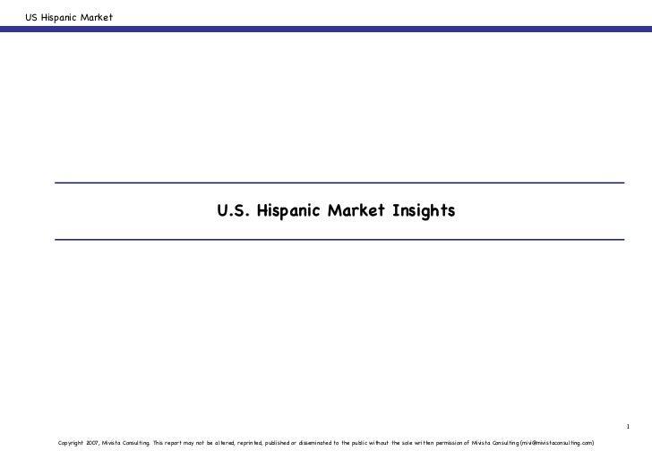 U.S. Hispanic Market Insights
