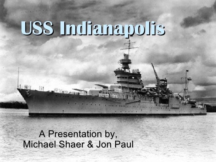 U S S  Indianapolis