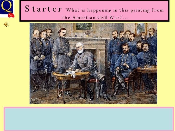 USvsEng Civil War Essay