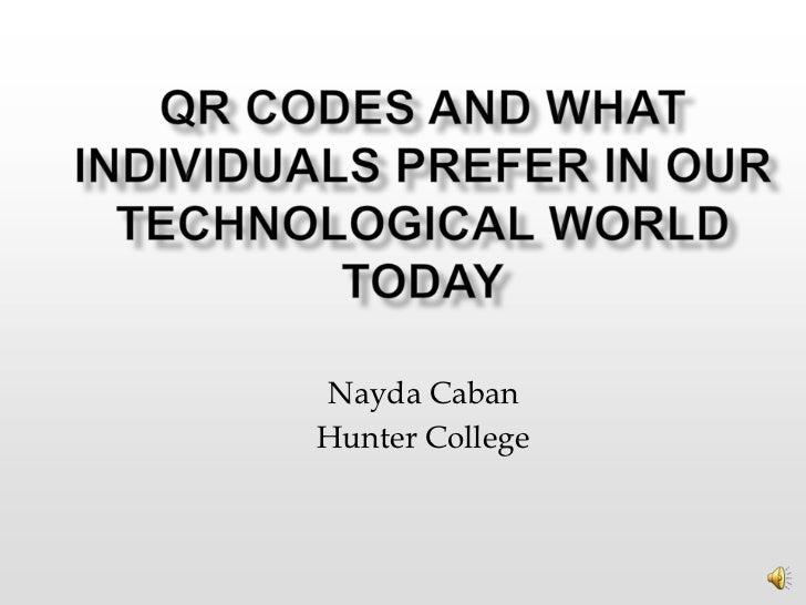 Nayda CabanHunter College