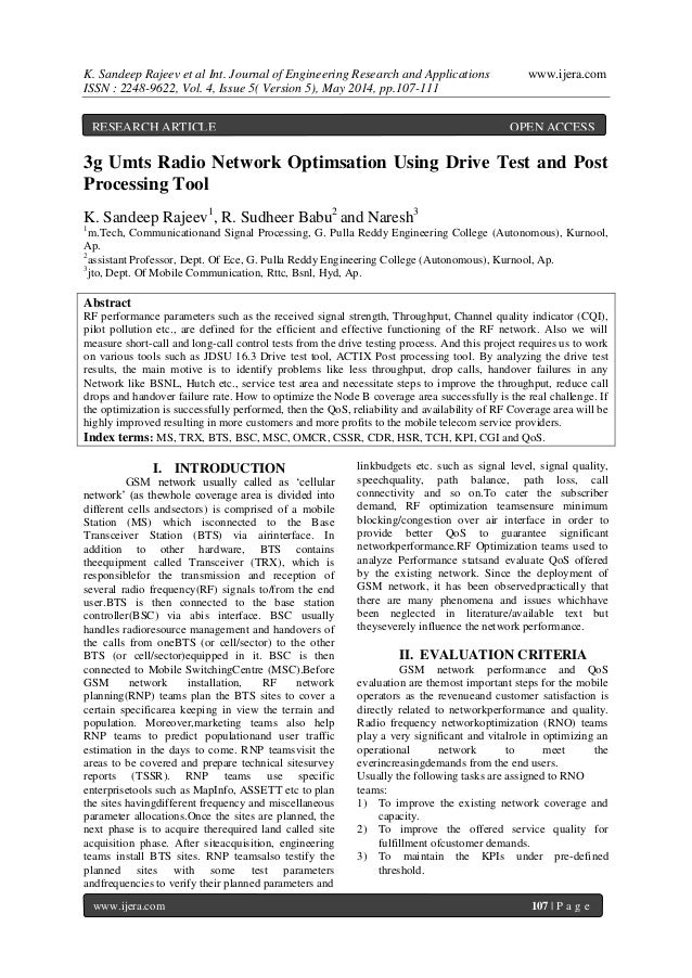K. Sandeep Rajeev et al Int. Journal of Engineering Research and Applications www.ijera.com ISSN : 2248-9622, Vol. 4, Issu...