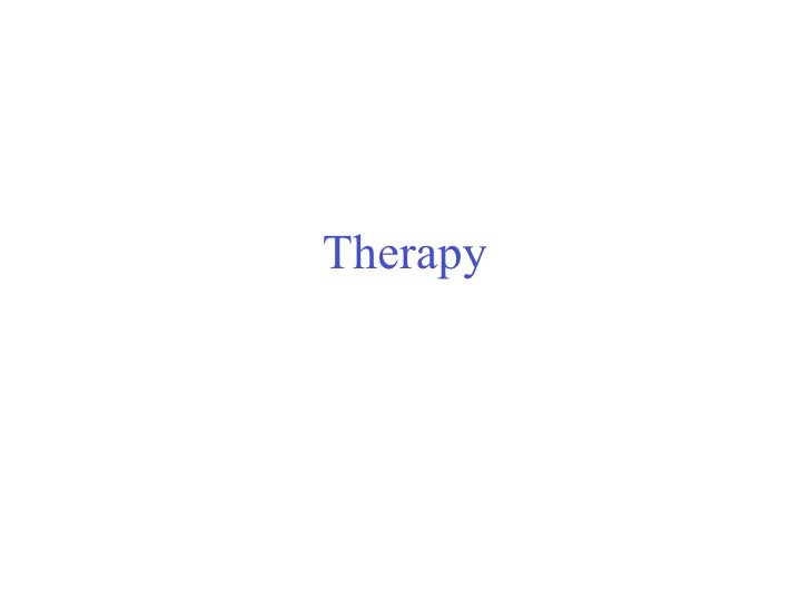 Therapy Unit slides