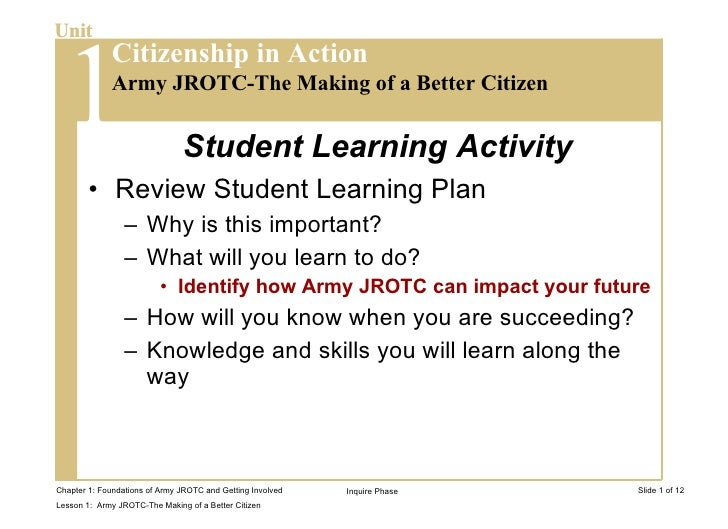 <ul><li>Review Student Learning Plan </li></ul><ul><ul><li>Why is this important? </li></ul></ul><ul><ul><li>What will you...