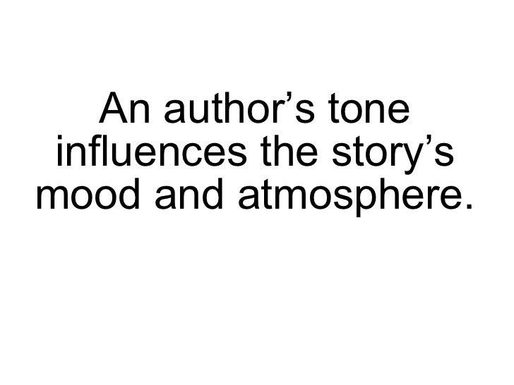 Author's Tone