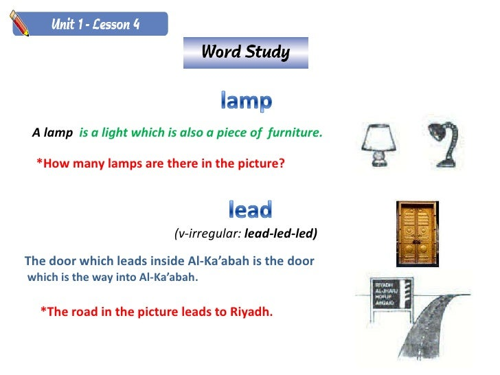 A lamp is a light which is also a piece of furniture.    *How many lamps are there in the picture?                        ...