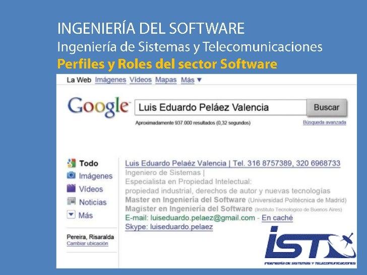 U1T2 - Ingesoft - Roles y Perfiles en el desarrollo de Software