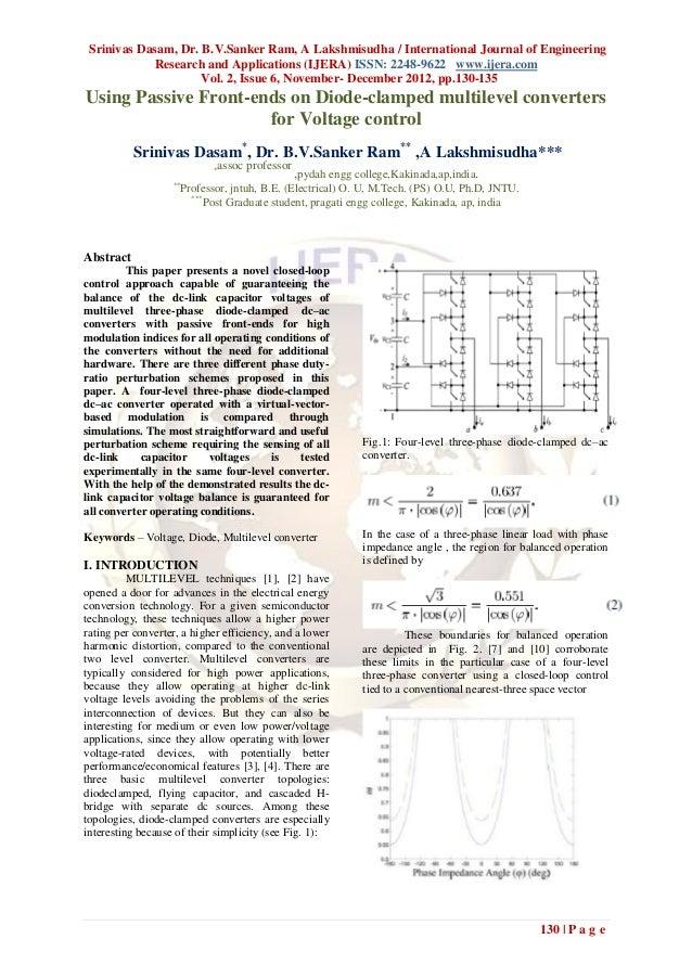 Srinivas Dasam, Dr. B.V.Sanker Ram, A Lakshmisudha / International Journal of Engineering             Research and Applica...