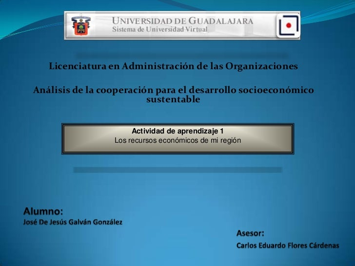 Licenciatura en Administración de las OrganizacionesAnálisis de la cooperación para el desarrollo socioeconómico          ...