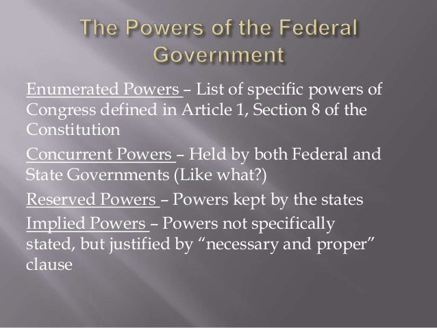 federalism article 1 section 10