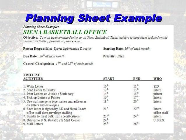 sport budget template