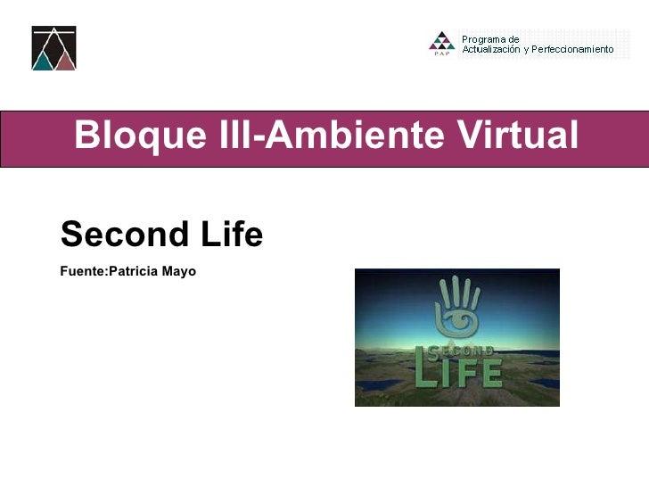 U3 4 Second Life