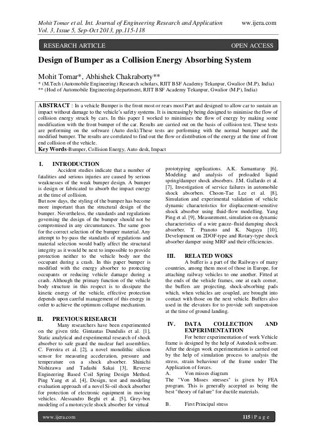 Mohit Tomar et al. Int. Journal of Engineering Research and Application ww.ijera.com Vol. 3, Issue 5, Sep-Oct 2013, pp.115...