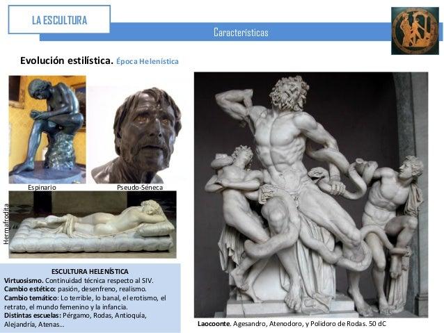 Escultura Griega Caracteristicas la Escultura Características