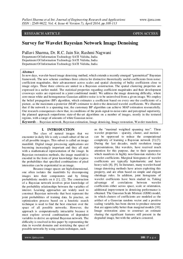 Pallavi Sharma et al Int. Journal of Engineering Research and Applications www.ijera.com ISSN : 2248-9622, Vol. 4, Issue 4...