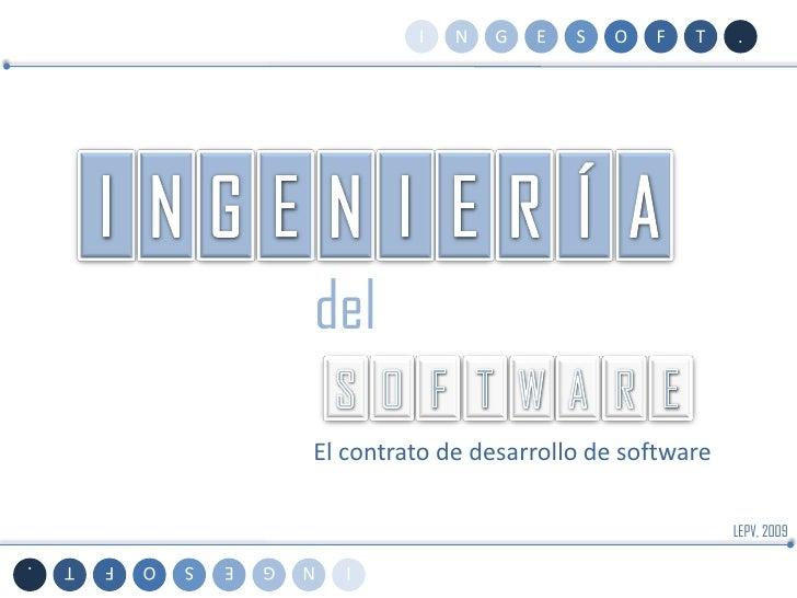 U4T2 - El Contrato de Software