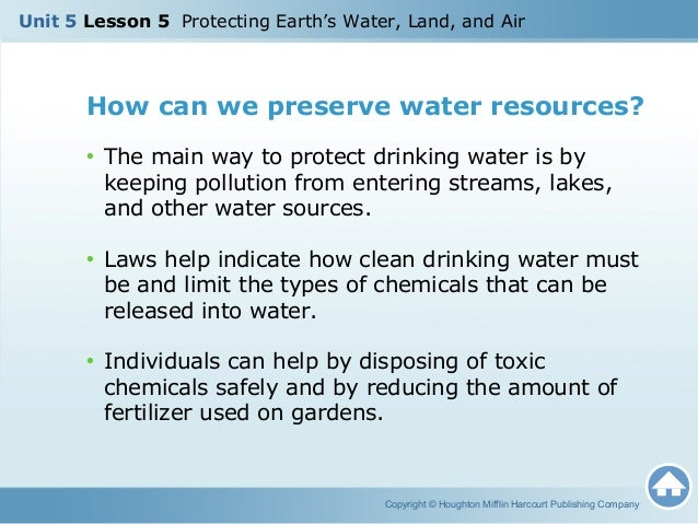 How Can We Preserve And Protect Our Natural Resources