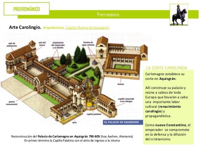 PRERROMÁNICO                                                            PrerrománicoArte Carolingio.       Arquitectura. C...