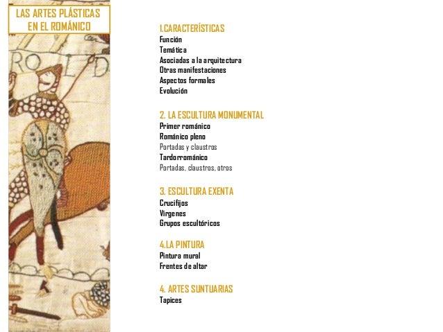 U8. arte románico (vii) artes plásticas
