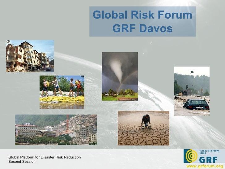 Global Risk Forum - GRF Davos