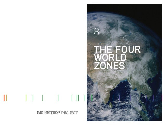 8 THE FOUR WORLD ZONES