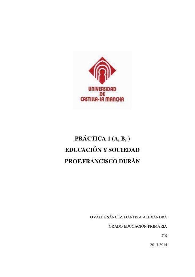 Prácticas del módulo i pedagogia