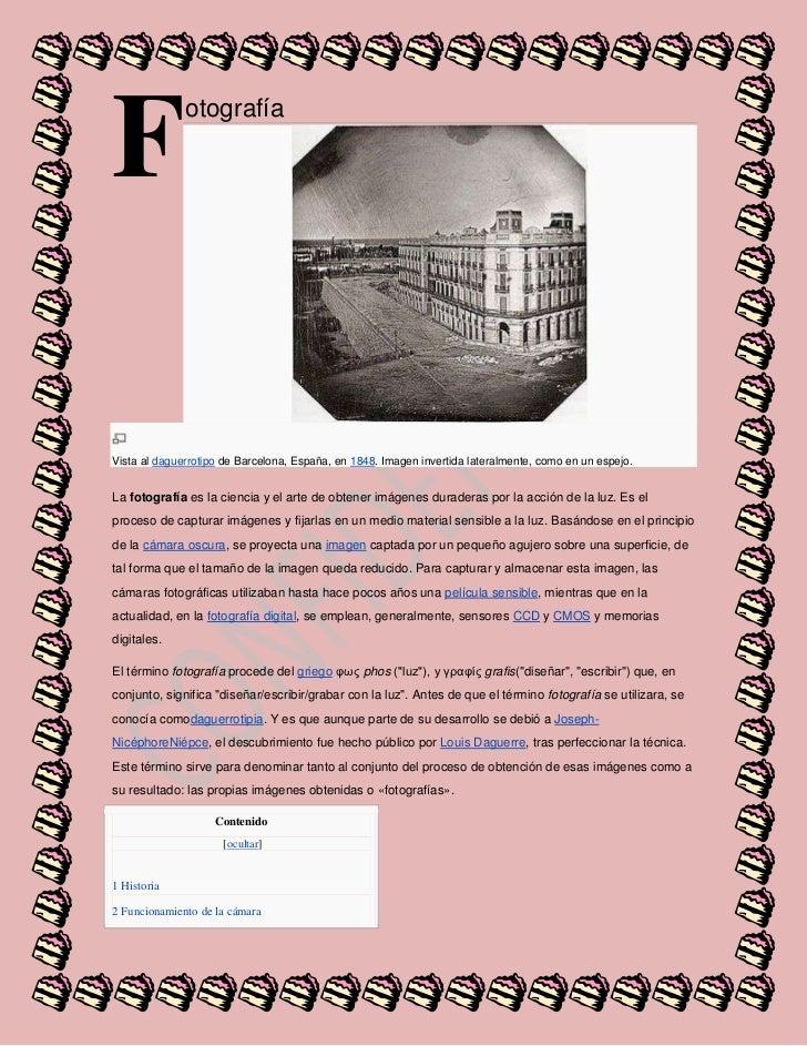F<br />otografía<br />Vista aldaguerrotipode Barcelona, España, en1848. Imagen invertida lateralmente, como en un espej...