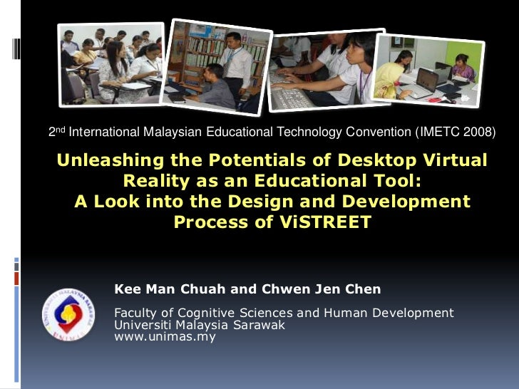 2nd International Malaysian Educational Technology Convention (IMETC 2008)<br />Unleashing the Potentials of Desktop Virtu...