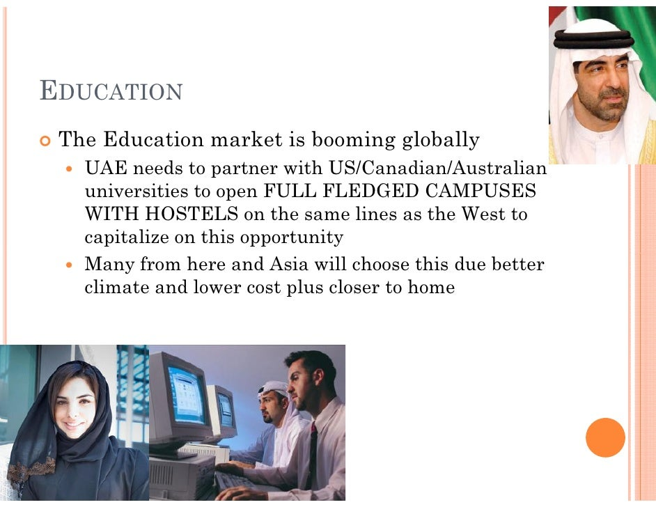 essay about education system in uae The uae developed a public national educational system in a thirty year period  that is similar to what western countries established in over a hundred year.