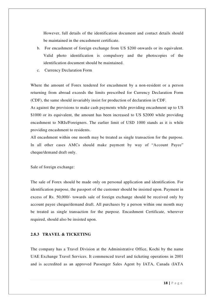 Forex encashment certificate altavistaventures Images