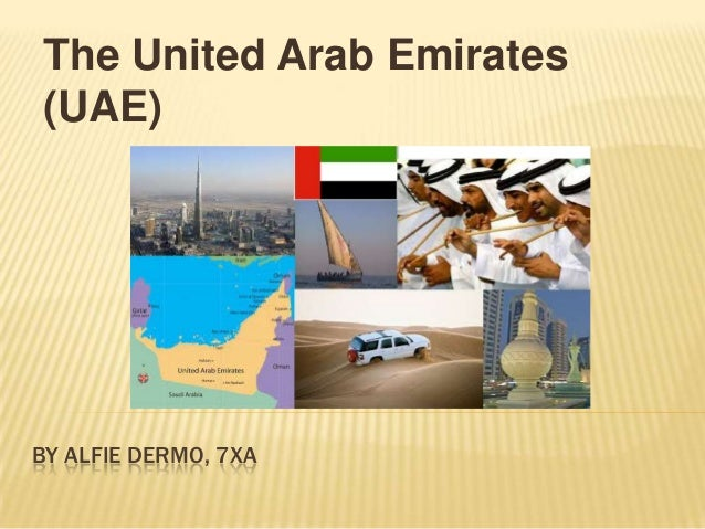 ILT Jan 2014 Investigating the Geography of chosen country UAE