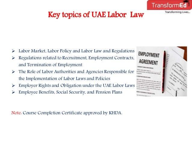 uae labour law articles