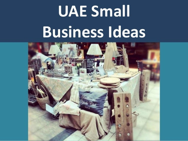 small business opportunity in uae