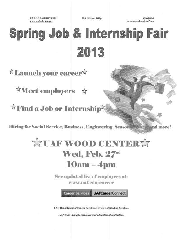 Uaf job fair