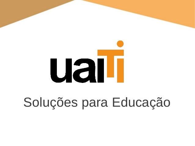 Soluções para Educação
