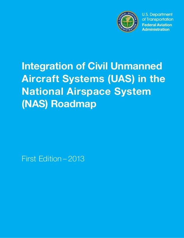 UAS roadmap 2013