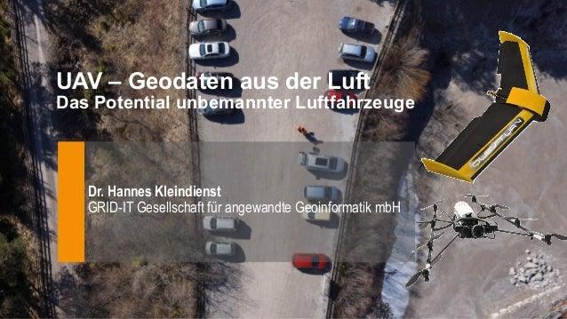 GRID-IT Gesellschaft für angewandte Geoinformatik mbH Technikerstraße 21a A-6020 Innsbruck +43-512-50748600 office@grid-it...